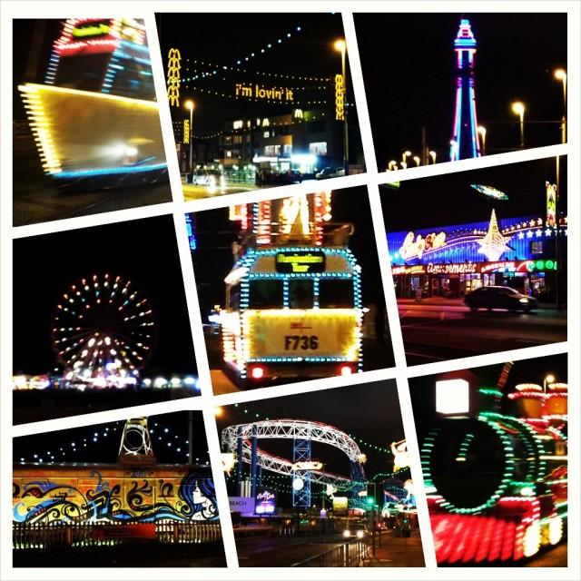 """Blackpool Illuminations."" stock image"