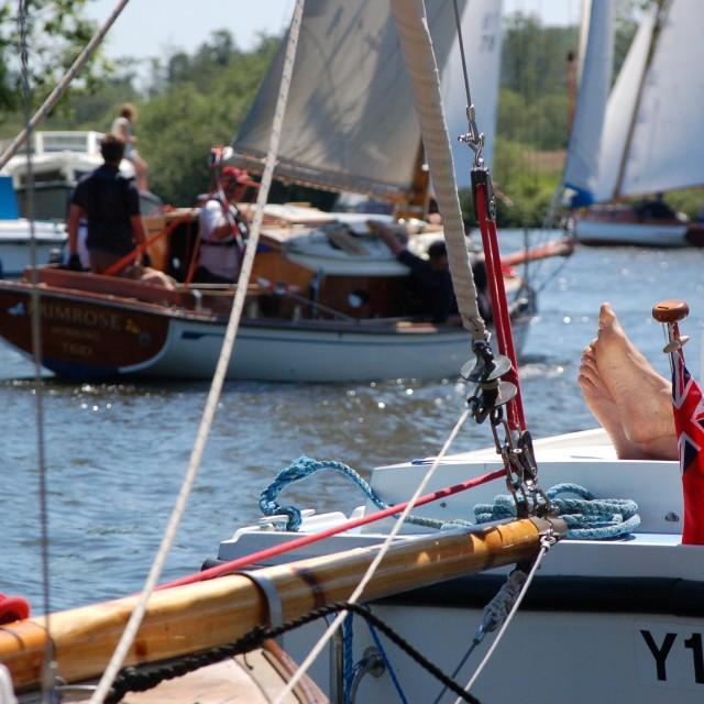 """Sailing Regatta"" stock image"