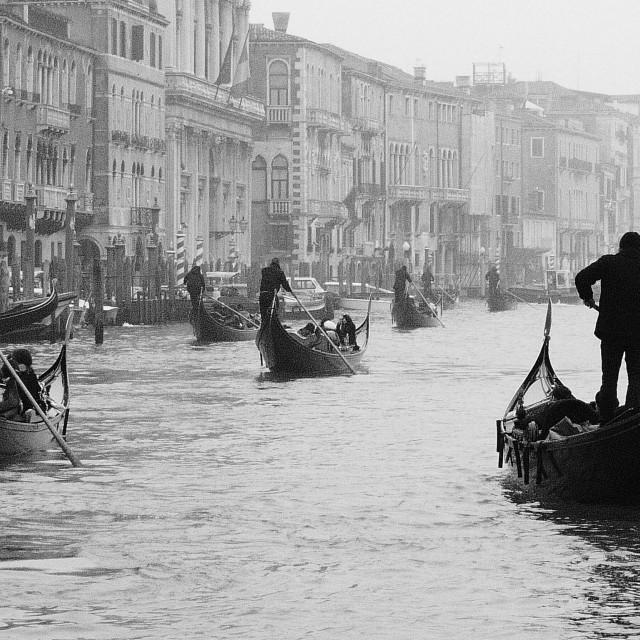 """Venetian view 2"" stock image"