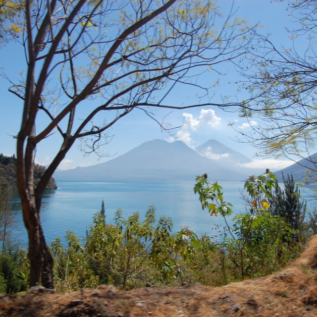 """Lake Atitlan, Guatemala"" stock image"