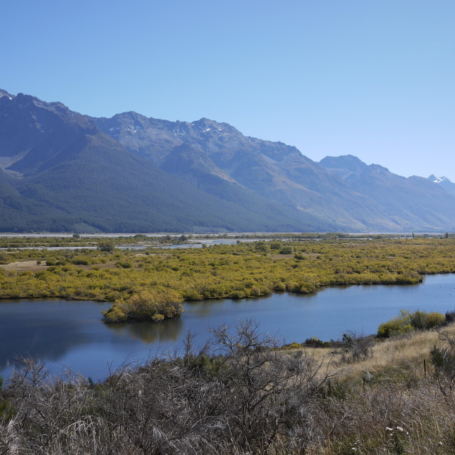 """Glenorchy, NZ"" stock image"