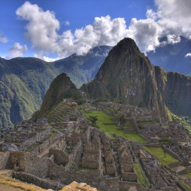 """Machu Picchu View"" stock image"