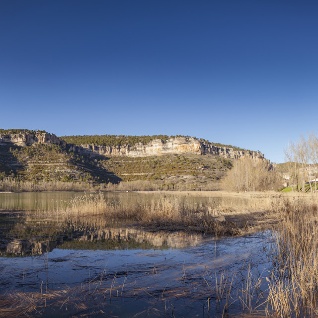 """""""Lake in Spain"""" stock image"""