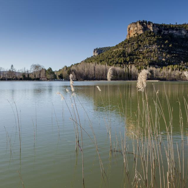 """""""Lake in Spain 2"""" stock image"""