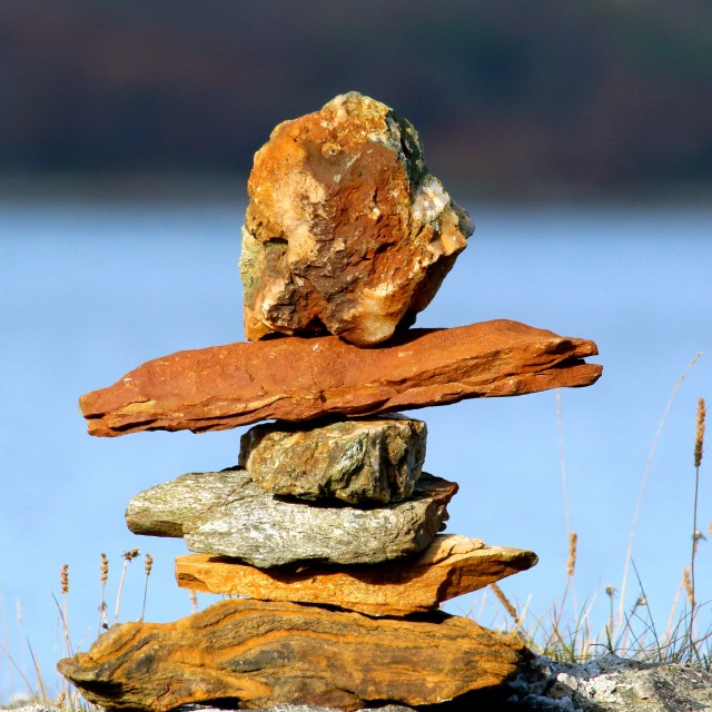 """Rock Balance"" stock image"