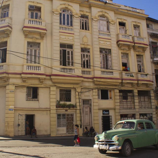 """Street in Cuba"" stock image"