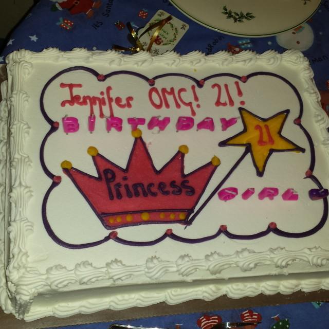 """Birthday cake."" stock image"