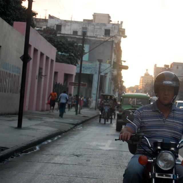 """Havana street scene"" stock image"