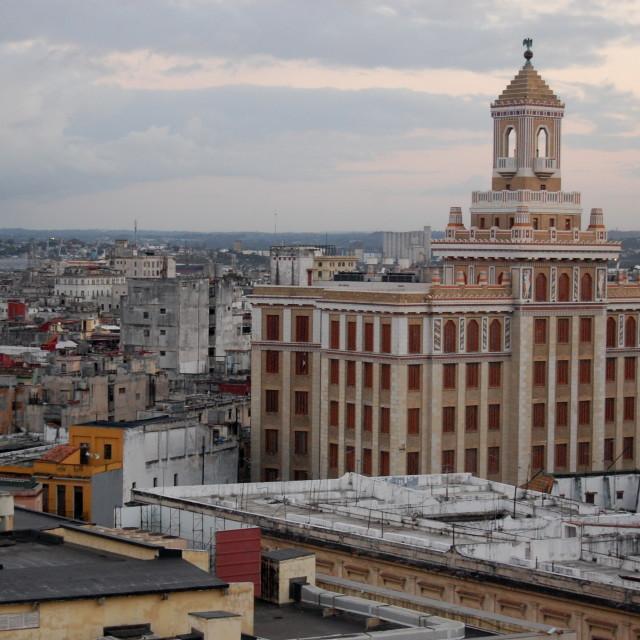 """""""View over Havana"""" stock image"""