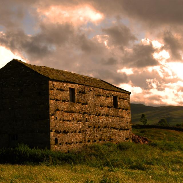 """The Barn"" stock image"