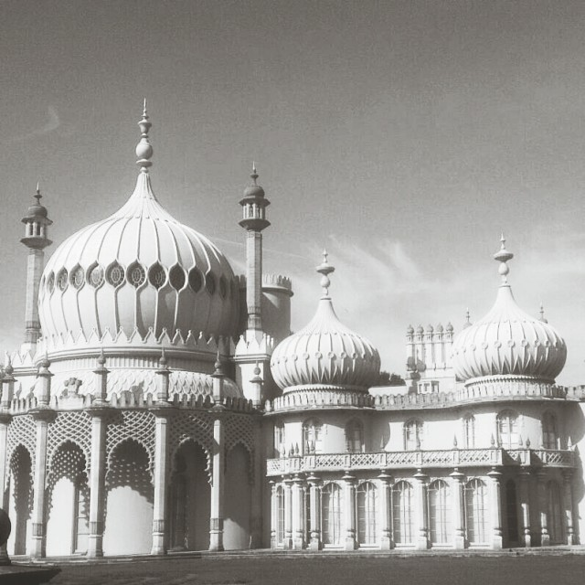 """Royal Brighton Pavillion"" stock image"