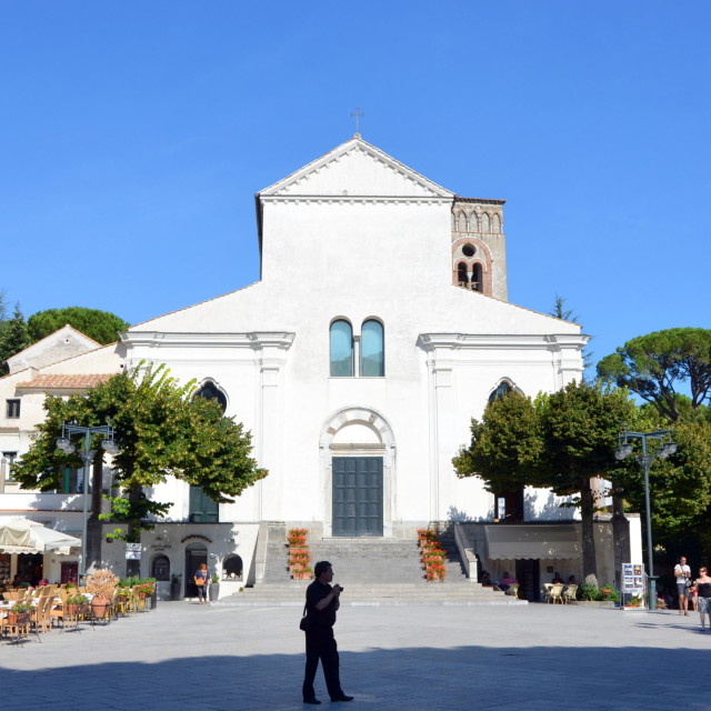"""""""Ravello Cathedral"""" stock image"""