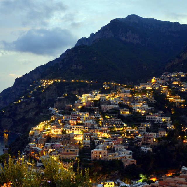 """Positano View"" stock image"
