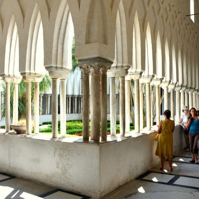"""Cloister of Paradise"" stock image"