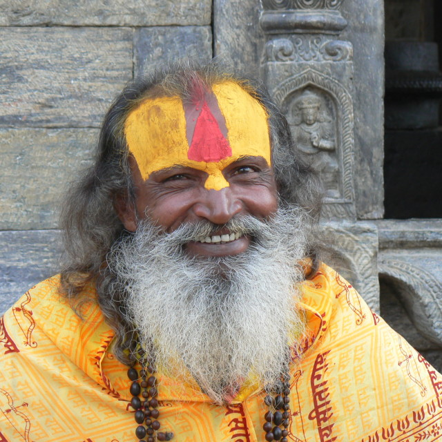 """Sadhu, Kathmandu"" stock image"