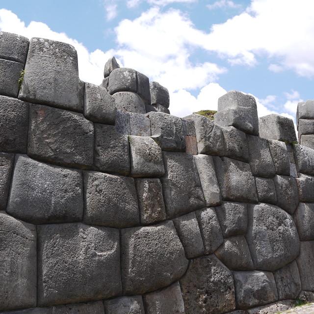 """Saksaywaman, Cuzco"" stock image"