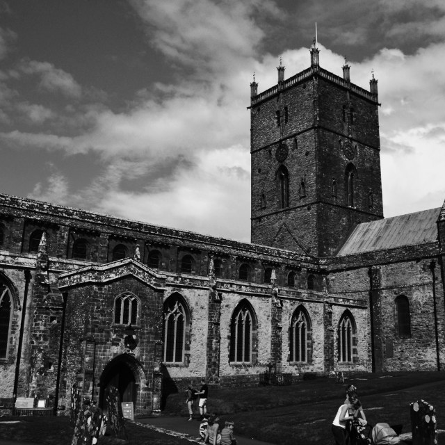 """St David's Cathedral"" stock image"