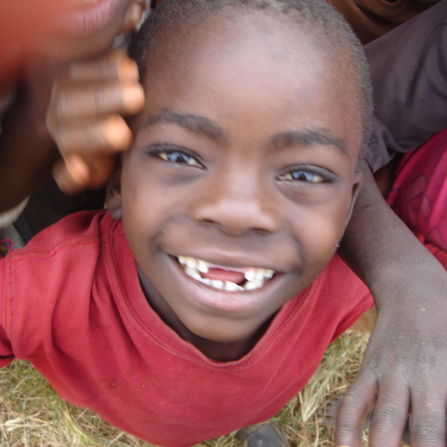 """""""Smiling African Child"""" stock image"""