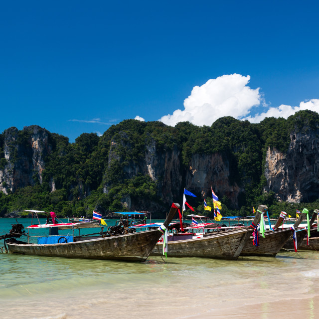 """Ao Nang,Krabi beach"" stock image"