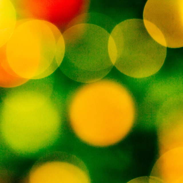 """""""Light Bubbles (Afterthought)"""" stock image"""