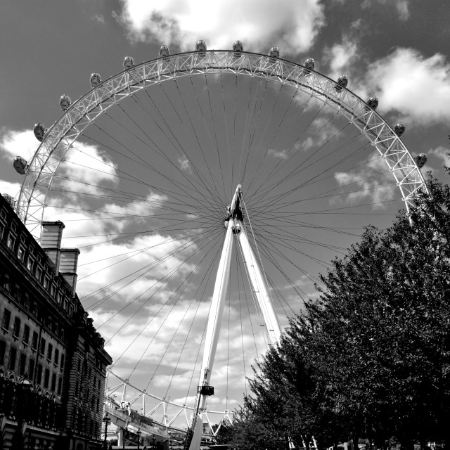 """London's Eye"" stock image"
