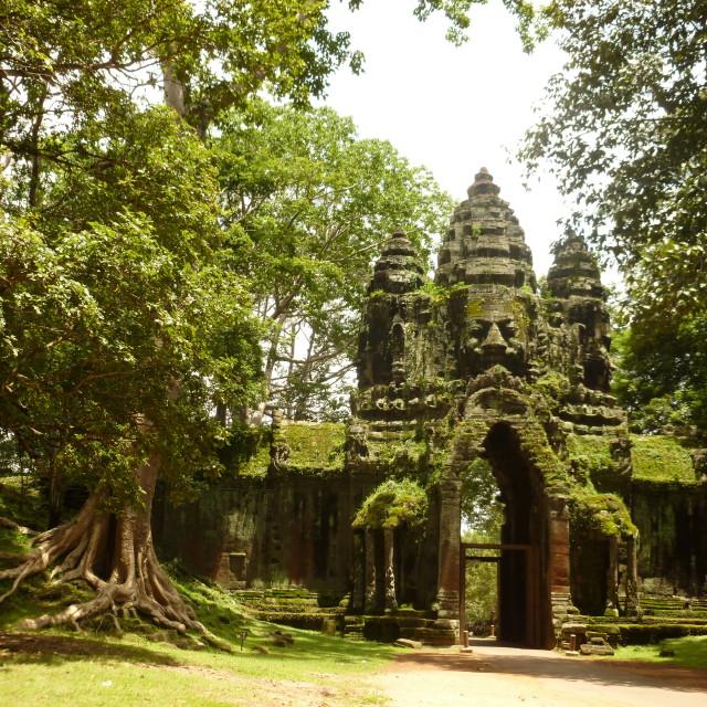 """Angkor Thom, Cambodia"" stock image"