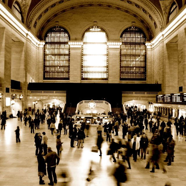 """Grand Central"" stock image"