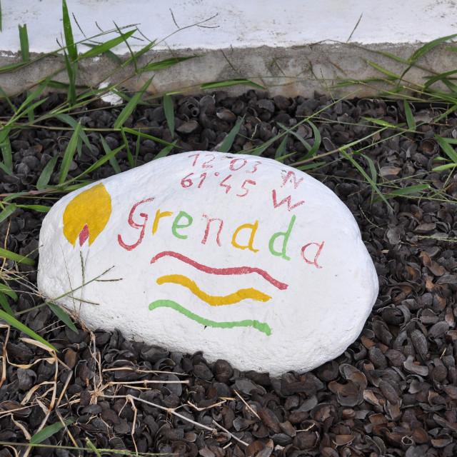 """""""Grenada Stone"""" stock image"""