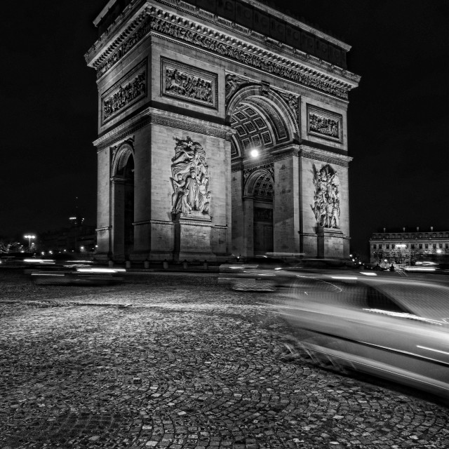 """Arc De Triomphe Paris France"" stock image"