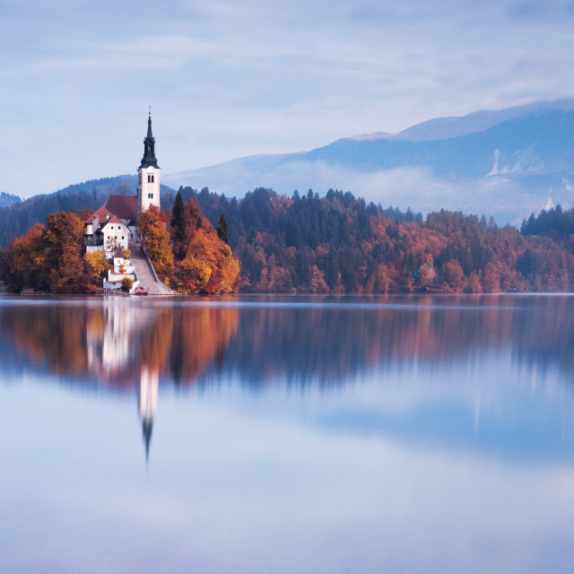 """Lake Bled"" stock image"