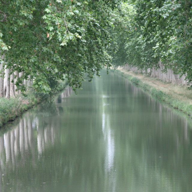 """French Canal"" stock image"