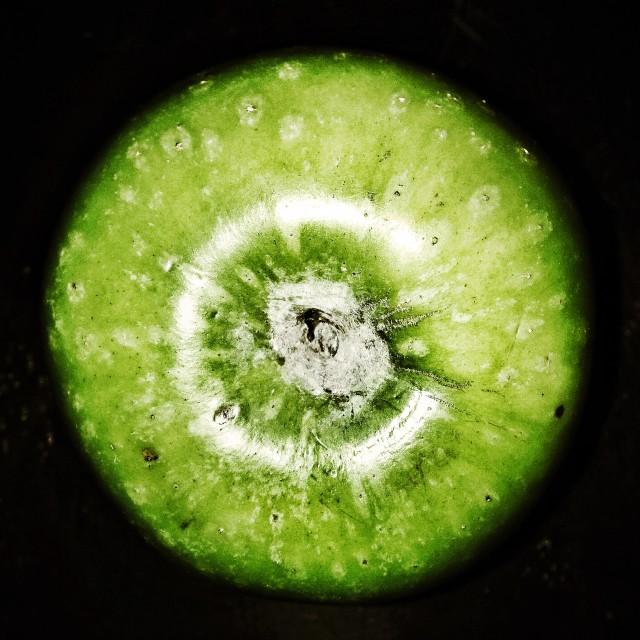 """Apple green"" stock image"