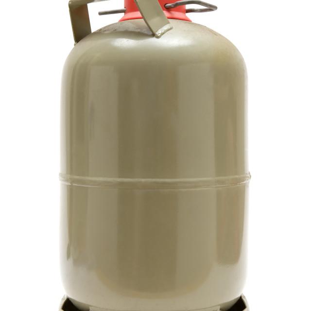 """Gas Cylinder"" stock image"