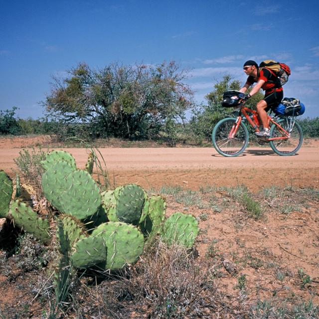 """""""Mountain Biking"""" stock image"""