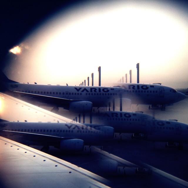 """""""Rio Galeão Airport"""" stock image"""