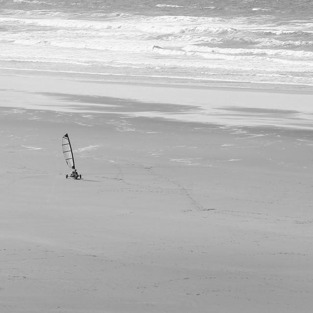 """""""Kite surf"""" stock image"""