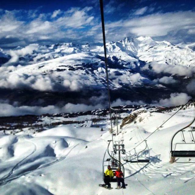 """""""ski slopes"""" stock image"""