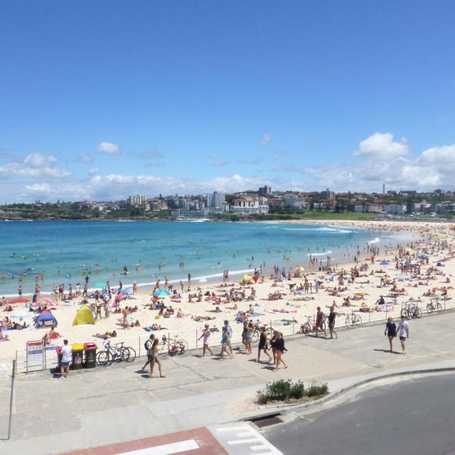 """Bondi Beach, Sydney"" stock image"