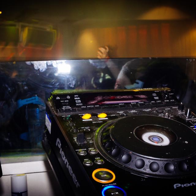 """Pioneer DJ"" stock image"