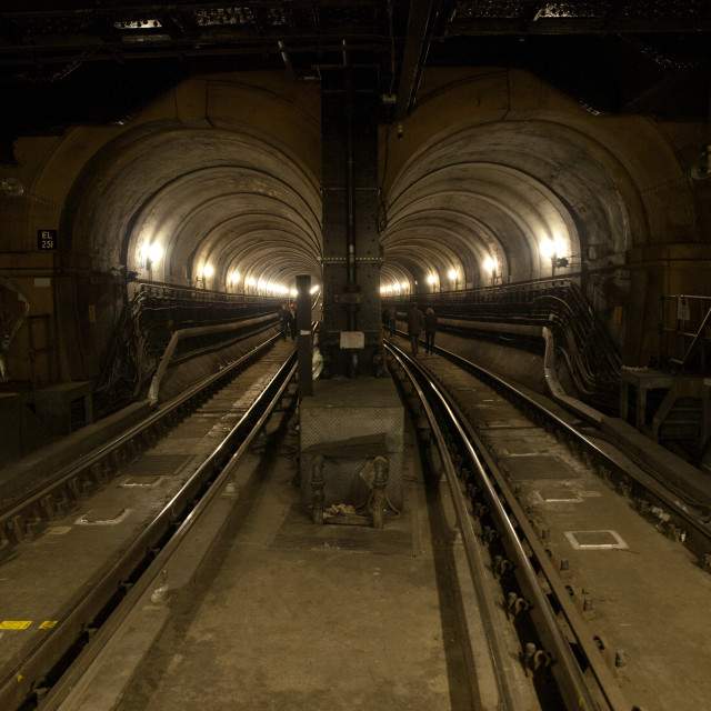 """Thames Tunnel"" stock image"