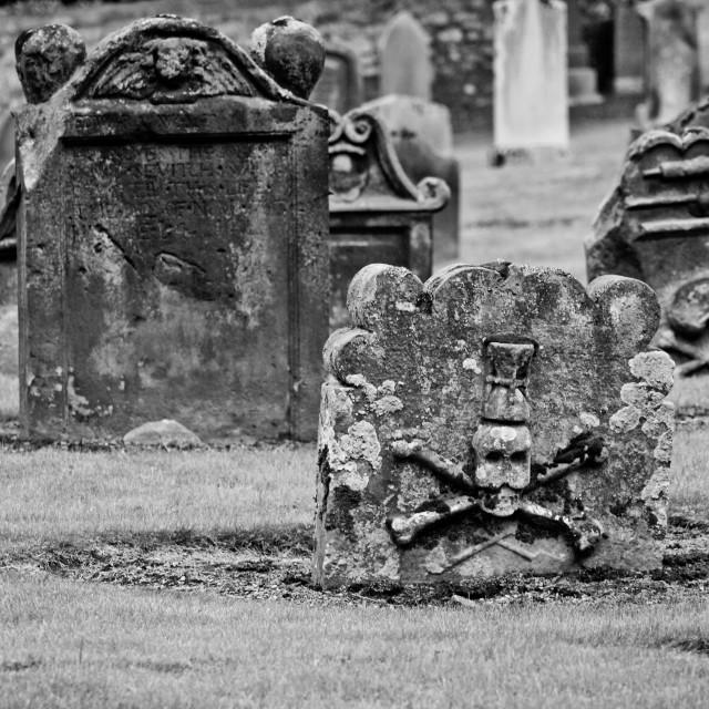 """""""Gravestones"""" stock image"""