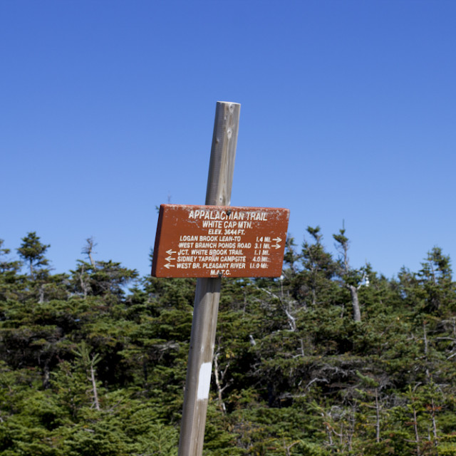 """Appalachian Trail"" stock image"