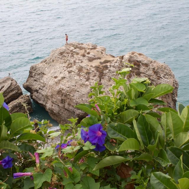 """""""Balcon de Europa"""" stock image"""