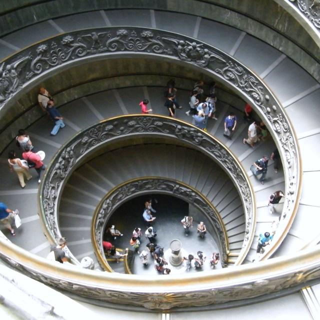 """""""Vatican Stairway"""" stock image"""