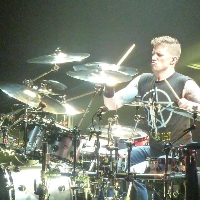 """Nickelback - Daniel - Drummer"" stock image"