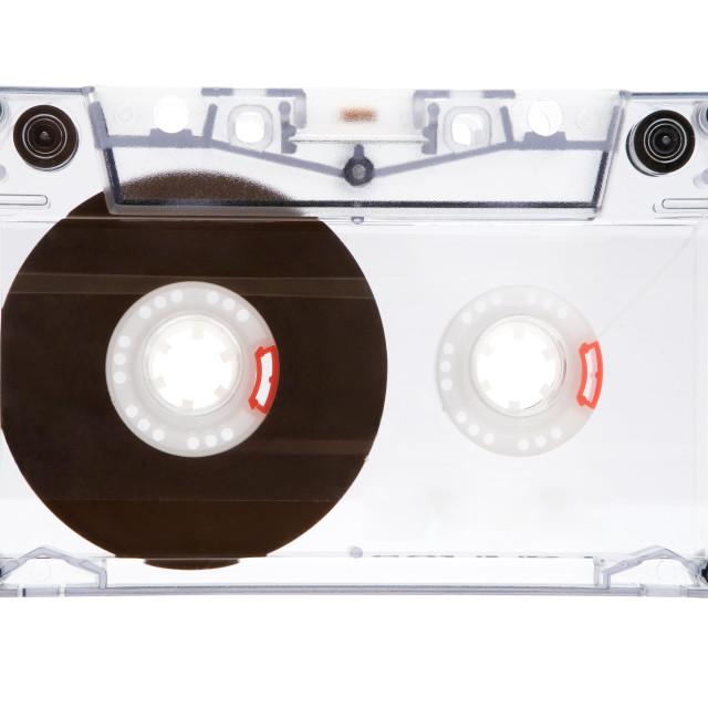 """Translucent Audio Tape"" stock image"