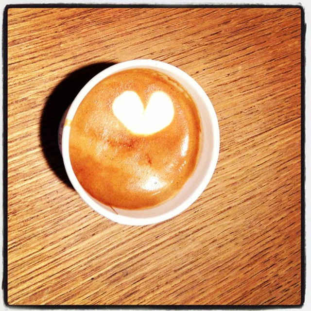"""Love coffee"" stock image"