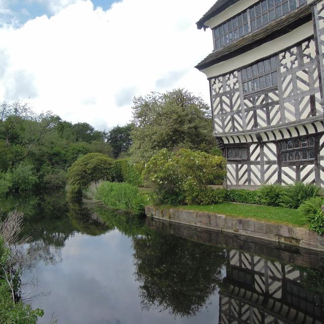 """Tudor Manor House"" stock image"