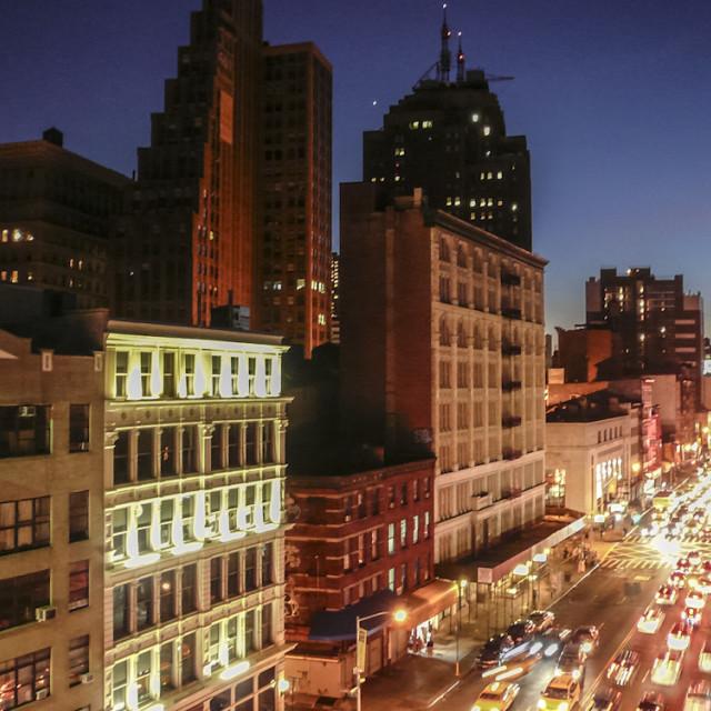 """New York City"" stock image"