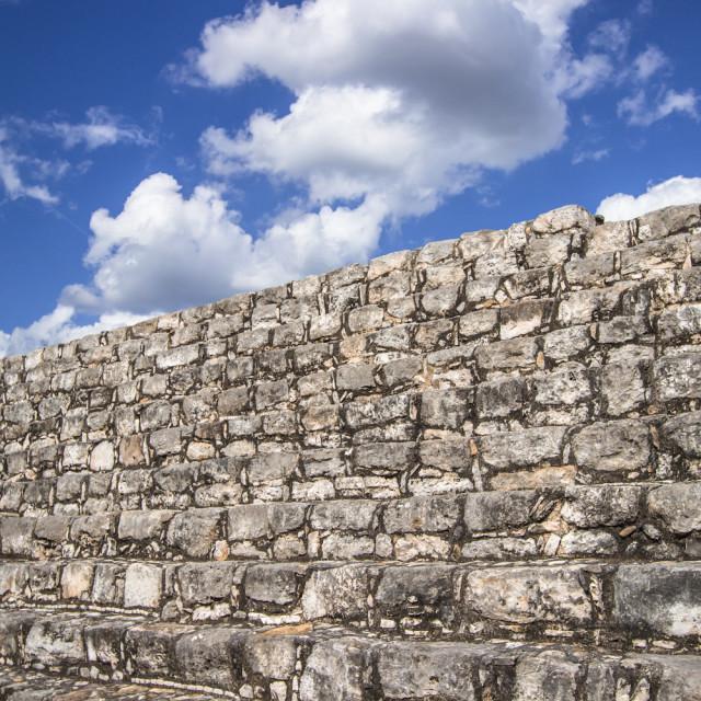 """""""Maya Ruins"""" stock image"""